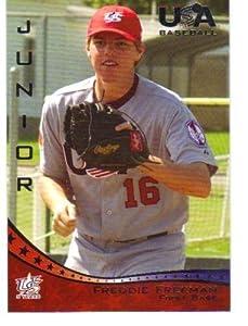 Buy 2006-07 (2007) USA Baseball # 44 Freddie Freeman (Pre-Rookie Baseball Card) Team USA by USA Baseball
