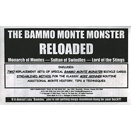 MMS Bammo Monte Monster Reloaded by Bob Farmer - Trick