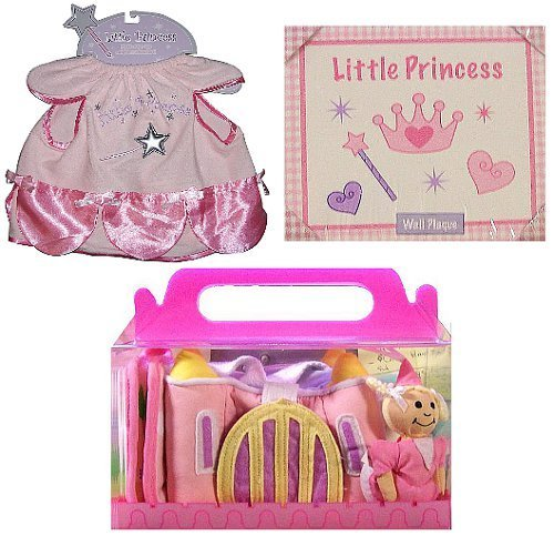 Cudlie Accessories Llc-Mommy's Little Princess 3-Piece Set