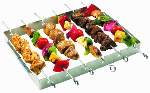 Buy Bargain GrillPro 41338 Stainless Steel Shish Kebab Set