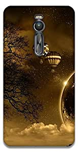 The Racoon Grip printed designer hard back mobile phone case cover for Asus Zenfone 2 ZE551ML. (hot air ba)