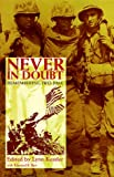 img - for Never in Doubt: Remembering Iwo Jima book / textbook / text book