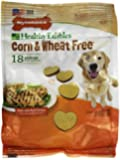 Nylabone Healthy Edibles Wheat and Corn Free Small Chicken Flavored Dog Treat Bones