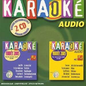 Coffret 2 CD : Karaoké 2005 Voumes 1 et 2
