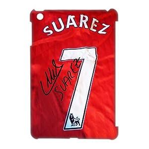 Liverpool Suarez Signature Shirt Football Player Cool iPad Mini Hard Plastic Case by custom wonderland