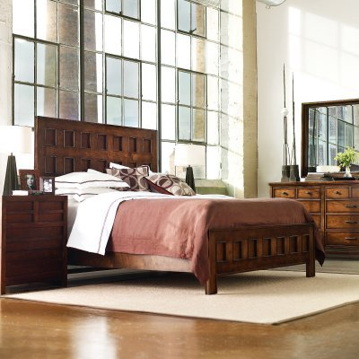 Stanley Furniture Modern Craftsman Mission Archive Bed - STAN2647