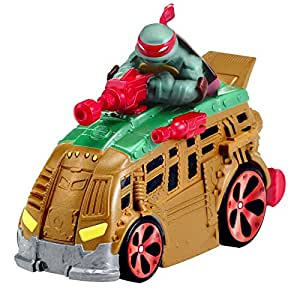 Teenage Mutant Ninja Turtles Teenage Mutant Ninja Turtles T Machines Raphael in Shellraiser Diecast Vehicle
