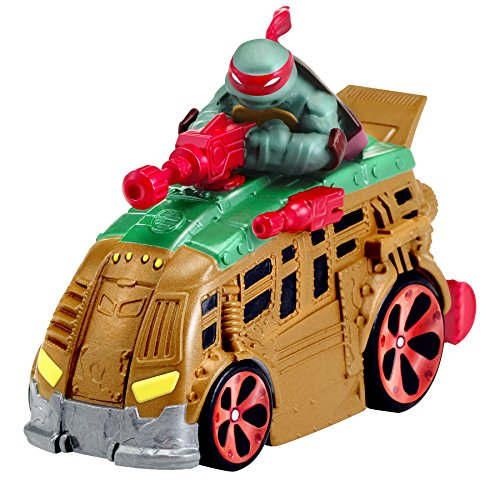 Teenage Mutant Ninja Turtles T-Machines Raphael in Shellraiser Diecast Vehicle - 1