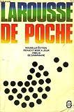 echange, troc Larousse - Larousse de poche : dictionnaire des noms communs, des noms propres, precis de grammaire