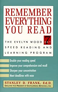 "Cover of ""Remember Everything You Read: T..."