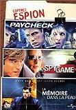 echange, troc Coffret Espion 3 DVD : Spy Game / Paycheck / La Mémoire dans la peau