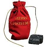 Christmas Lump of Coal Naughty (With Gift Bag)