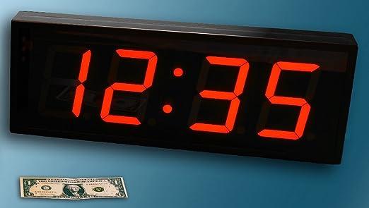large digital led wall clock led digital wall clock