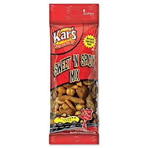 Kars - Nuts Caddy Sweet N Spicy Trail Mix 175 Oz Bags 24 Bagspack - Sold As 1 Box - Quality Nut And Snack Items from Advantus Corporation Products