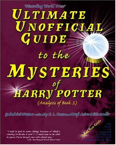 Harry Potter Book Value Guide : Ultimate unofficial guide to the mysteries of harry potter