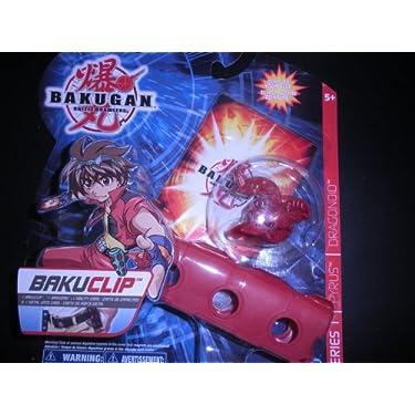 Bakugan Battle Brawlers Bakuclip   Red Pyrus   Dragonoid