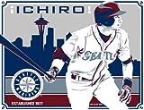 イチロー 17×21 シアトルマリナーズ アートポスター 250枚限定(MLBフォト) / Ichiro
