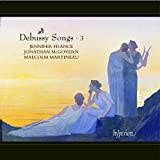Debussy: Songs Vol. 3 [Jennifer France, Malcolm Martineau, Jonathan McGovern] [Hyperion: CDA68016]