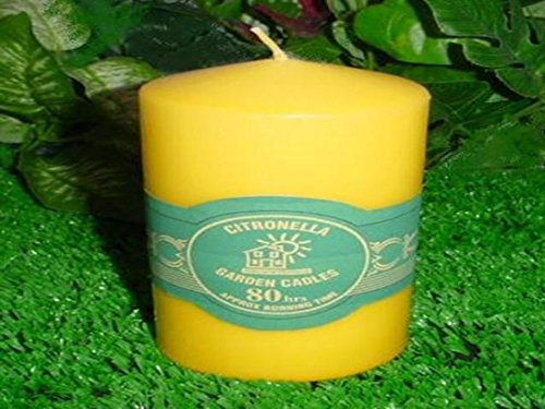 Citronella Outdoor Pillar Candle