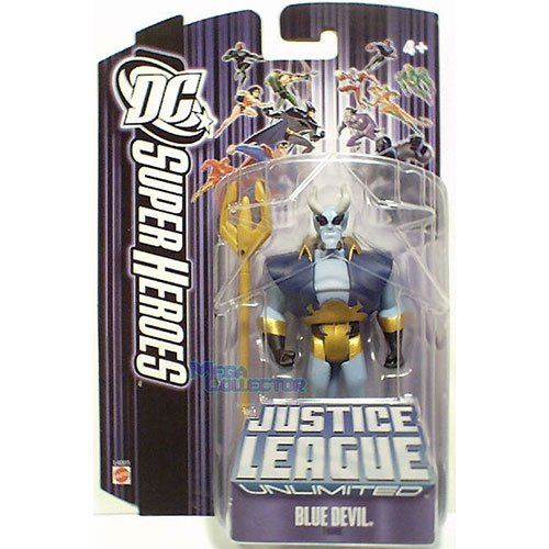 Justice League Unlimited Blue Devil Action Figure - 1
