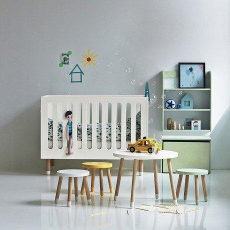 Alfred & Compagnie - Lit bébé avec sommier 60x120 Flexa blanc