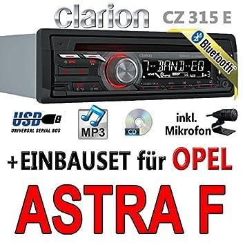Opel astra f-clarion cZ315E-autoradio bluetooth avec