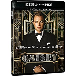 Gatsby le magnifique [4K Ultra HD + Blu-ray + Copie Digitale UltraViolet]
