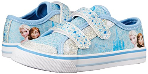 Disney Frozen Elsa and Anna Hook-and-Loop Sneaker character degrees and direct products
