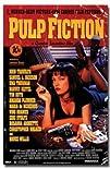 Pulp Fiction Movie (Uma – Retro Ad) P…