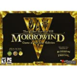 Elder Scrolls 3: Morrowind Game Of The Year Edition