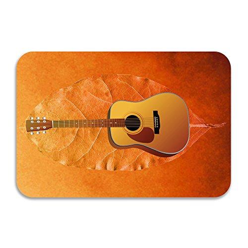 Estelle The Electric Guitar Non-slip Doormat White