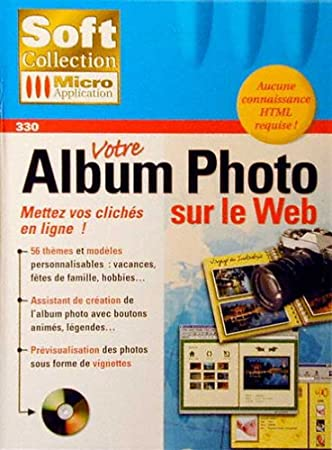 Votre album photo sur le web