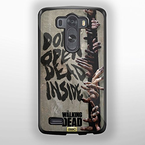 the walking dead quote dont open dead inside for LG G3 (LG G3 Black) (Lg G3 Phone Case Walking Dead compare prices)