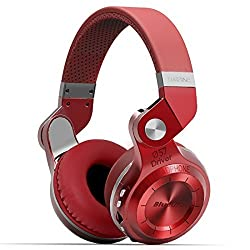 Bluedio Bluedio 195° Rotary Folding T2+ Bluetooth V4.1 Wireless Stereo Headsets with Microphone Support SD/ FM Radio (Red)