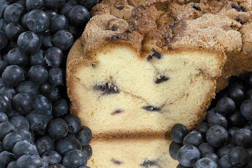 New England Blueberry Coffee Cake