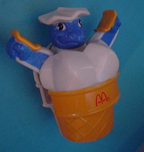 Mcdonalds Vintage 1990 Ice Cream Cone Transformer Toy