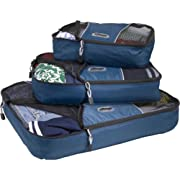 eBags Packing Cubes - 3pc Set (Denim)