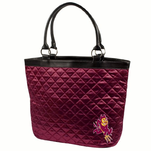 NCAA Arizona State Sun Devils Quilted Tote, Maroon
