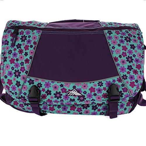 High Sierra Tank Messenger Bag - Purple/Flower front-876053