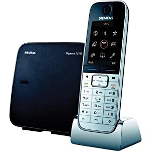 Siemens gigaset designer digital cordless phone with color display bluetooth - Designer cordless home phones ...