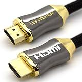 "LCS - ORION - 2M - Ultra HD 4K - Neue Version HDMI kabel 2.0 / 1.4a kompatibel - Dreifach-Abschirmung - 3D - ARC - CEC - 1080p / 2160pvon ""Link Cable Store"""