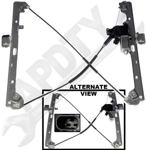 Apdty 852756 power window motor cable regulator assembly for 2002 silverado window regulator