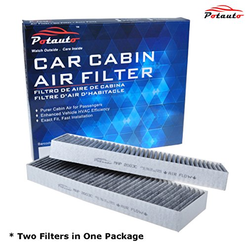 POTAUTO MAP 2003C Heavy Activated Carbon Car Cabin Air Filter Replacement compatible with ACURA, CL, TL, HONDA, Accord