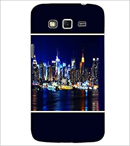 PrintDhaba Lighting City D-1394 Back Case Cover for SAMSUNG GALAXY GRAND 2 (Multi-Coloured)