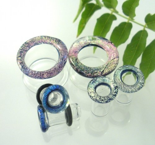 4g 5mm Dichroic Tunnels Plugs Shape
