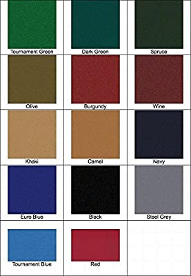 8' Proform High Speed Professional Pool Table Cloth Felt - Camel