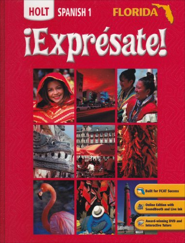 Expresate: Holt Spanish 1 (Florida Edition) (Expresate 1 compare prices)