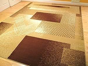large 5x8 rug beige contemporary rugs 5x7 carpet tan living room rug brown cream. Black Bedroom Furniture Sets. Home Design Ideas