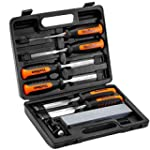 VonHaus 8 Piece Wood Carving Chisel S...