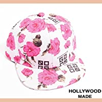 【HOLLYWOOD MADE(ハリウッドメイド)】GIVE A SHIT ROSE SB キャップ